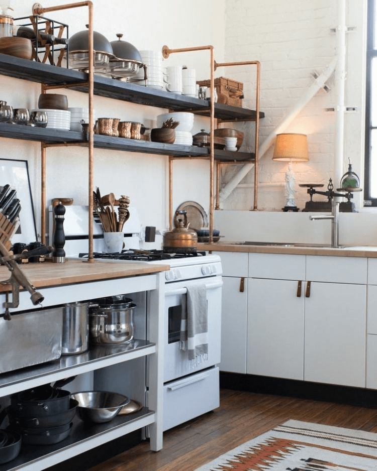 Shelfing ideas for kitchen small spaces