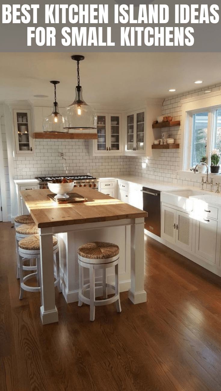 Best Kitchen Island Ideas For Small Kitchen Small Kitchen