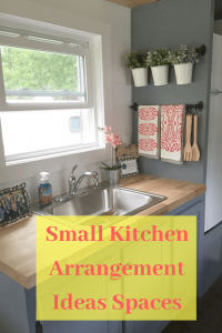 Small Kitchen Arrangement Ideas Spaces