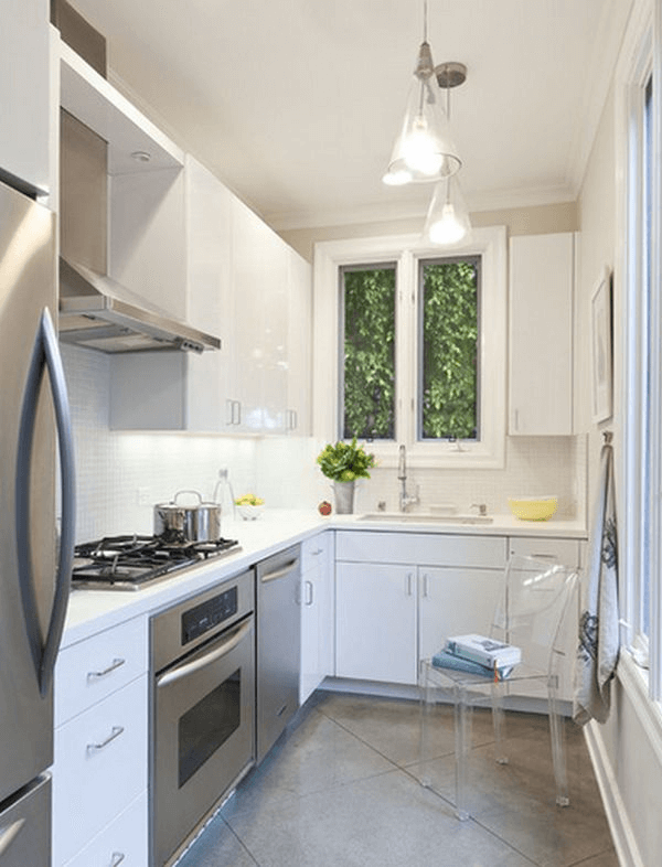 Small kitchen organizing tips to look bigger