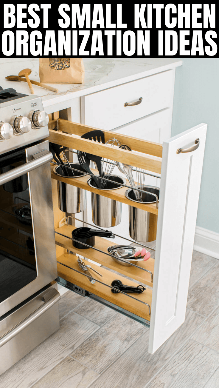 BEST SMALL KITCHEN ORGANIZATION IDEAS