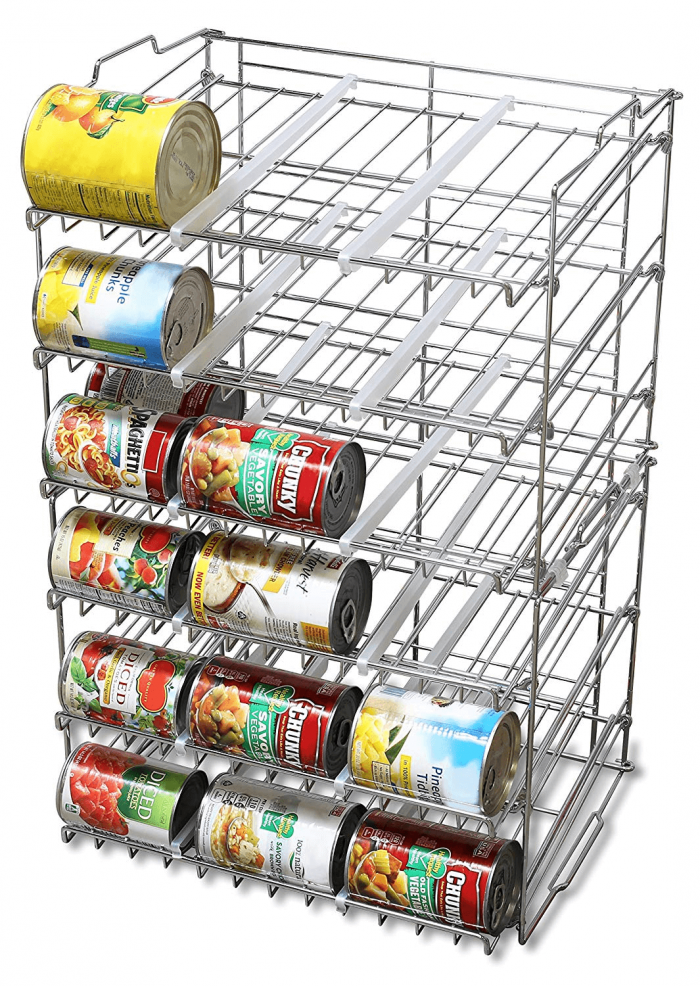 Canned Food Shelf or Gap Storage Shelf