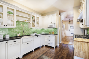 Colorful Tile for a Small Kitchen