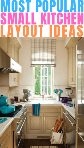 MOST POPULAR SMALL KITCHEN LAYOUT IDEAS