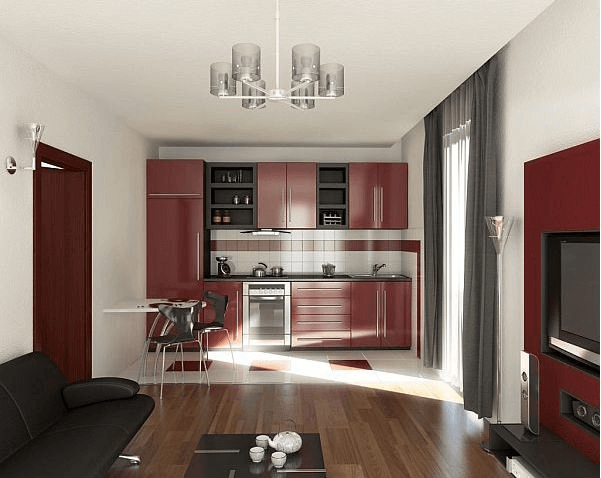 Single-Wall small Kitchen