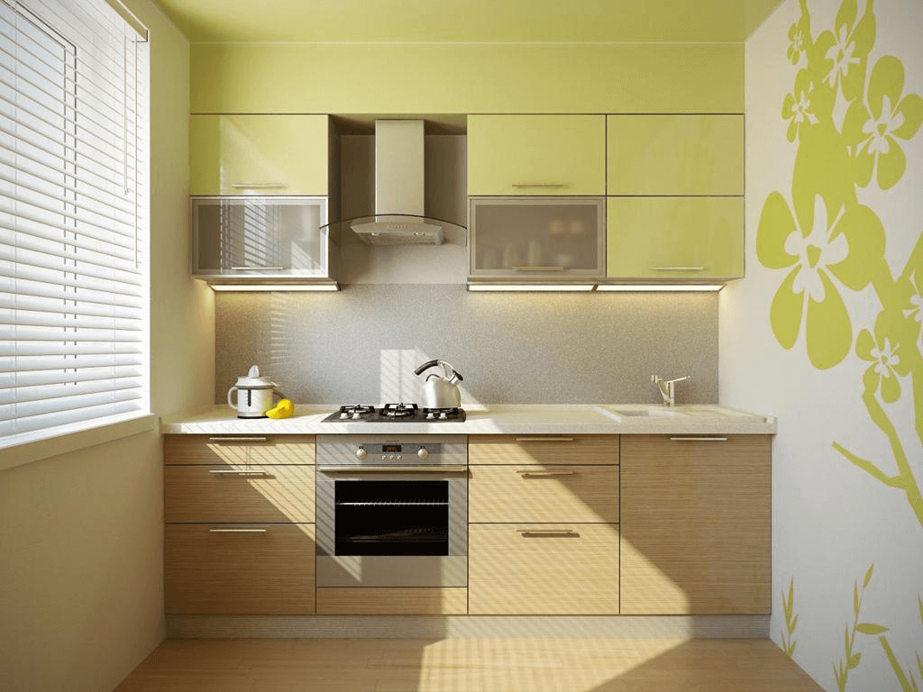 Tips And Tricks For The Small Kitchen Wall Painting Small Kitchen Guides