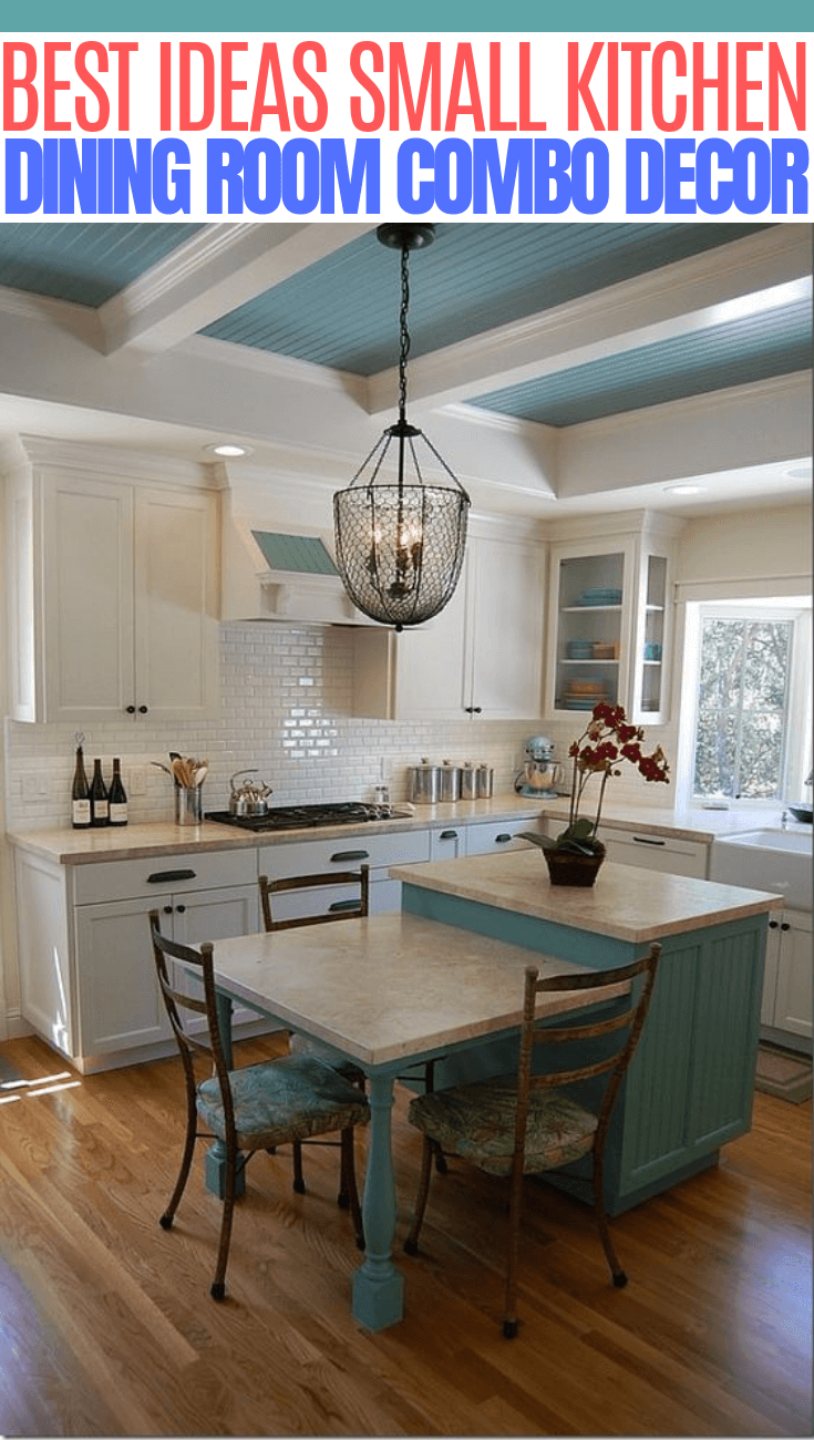 Applying the Small Kitchen and Dining Room Combo in Your ...
