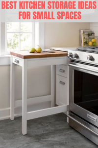 BEST KITCHEN STORAGE IDEAS FOR SMALL SPACES