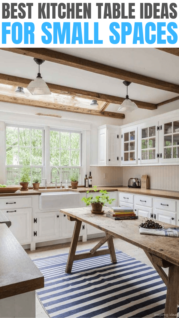 BEST KITCHEN TABLE IDEAS FOR SMALL SPACES