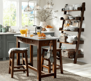 High top kitchen table small space saving ideas