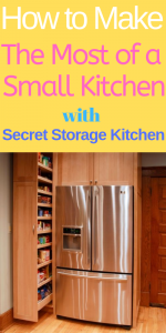 How to Make the Most of a Small Kitchen with Secret Storage Kitchen