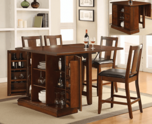 Multifunctional furniture small spaces dining table kitchen countertops