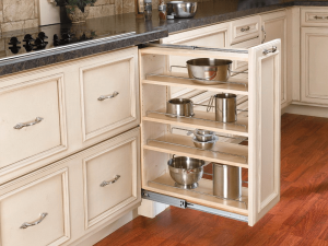 Multiple storage pull out drawers kitchen cabinets