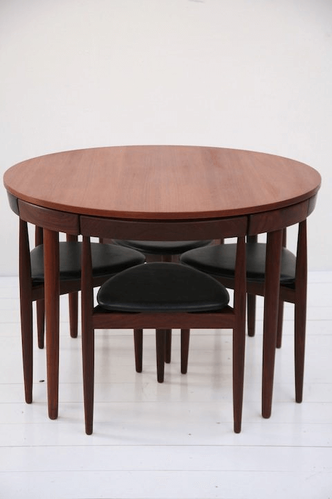 Nice round dining table compact small kitchen furniture ideas