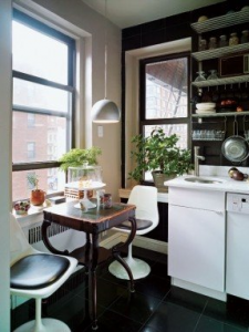 Small breakfast nook space saving kitchens