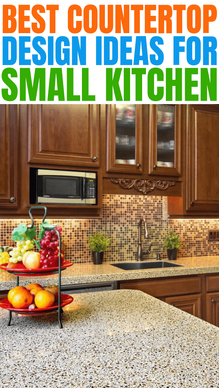BEST COUNTERTOP DESIGN IDEAS FOR SMALL KITCHEN