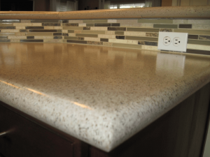 Best countertop edge for small kitchen with bull nose