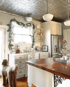 Tin Ceiling Kitchen Small Space Interior Design