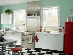 Tin Wallpaper Kitchen Vintage Style