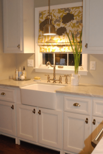 Small kitchen light above sink and decoration ideas