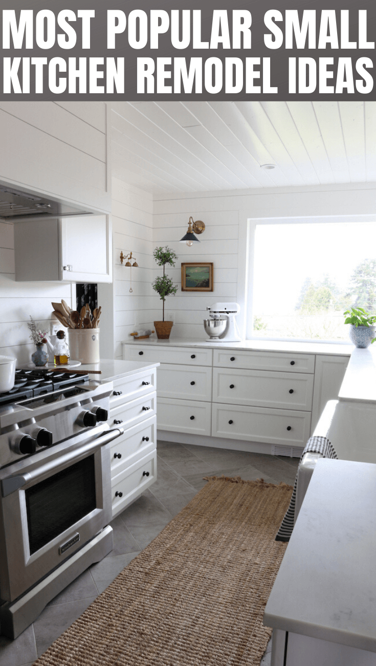MOST POPULAR SMALL KITCHEN REMODEL IDEAS