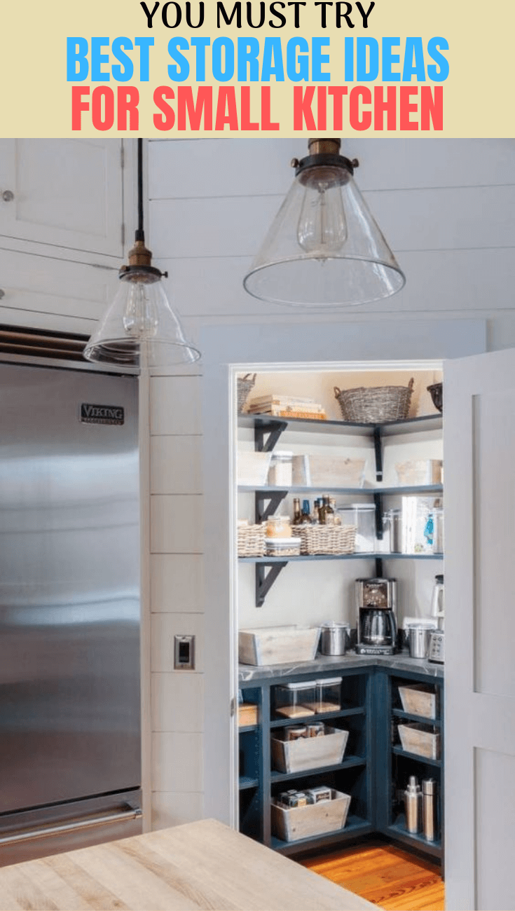 YOU MUST TRY BEST STORAGE IDEAS FOR SMALL KITCHEN