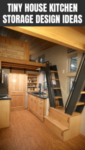 TINY HOUSE KITCHEN STORAGE DESIGN IDEAS