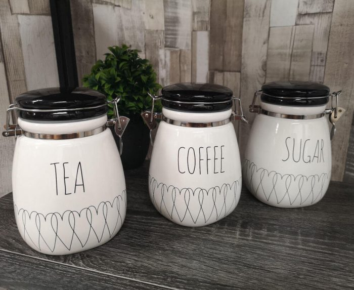 CANISTERS IDEAS FOR APARTMENT KITCHEN DECOR ON A BUDGET