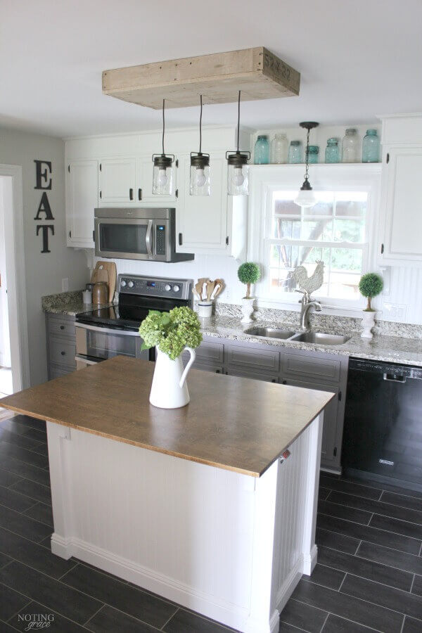 FARMHOUSE APARTMENT KITCHEN STYLE IDEAS