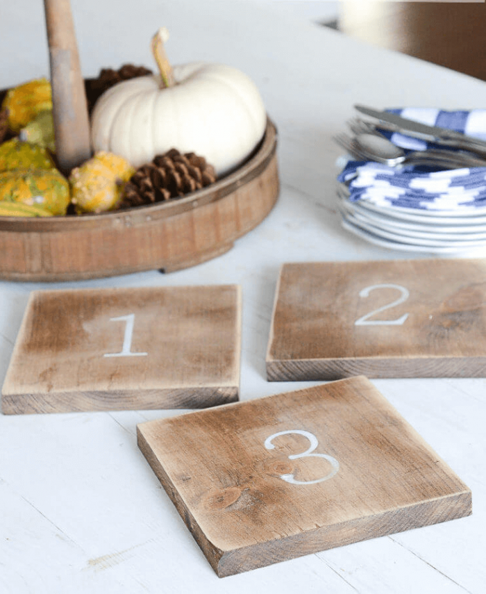 WOODEN TRIVETS APARTMENT KITCHEN DECORATION IDEAS