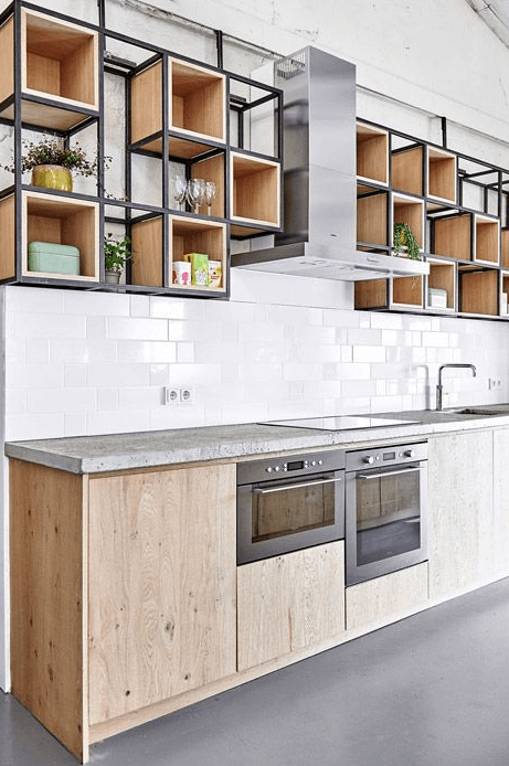 OUTSTANDING CABINETRY APARTMENT KITCHEN DESIGN IDEAS