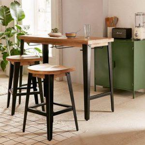 BREAKFAST BAR TABLE IDEAS FOR APARTMENT KITCHEN