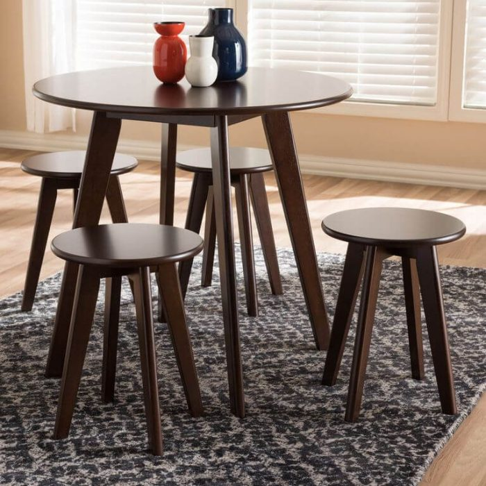 THE ROUND TABLE IDEAS FOR APARTMENT KITCHEN