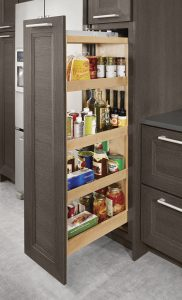 KITCHEN CABINET PULL OUTS FOR BETTER ORGANIZING