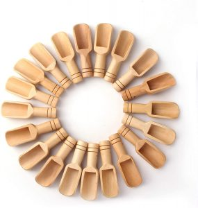 30 PCS Mini wooden spoon by Sansheng