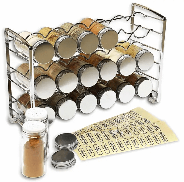 A Rack Stand for Organizing Your Favorite Spices