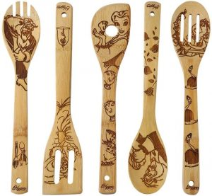 Beauty and the Beast Wooden Spoons Cooking & Serving Utensils