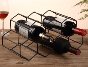 GEOMETRIC WINE RACK