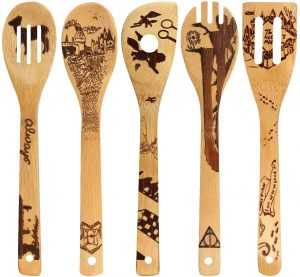 Organic Bamboo Spoons Cooking & Serving Utensils