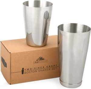 Premium Cocktail Shaker Set by Top Shelf Bar Supply Store