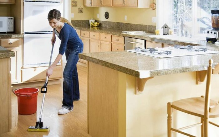 SMALL KITCHEN CLEANING CHECKLIST DAY THREE