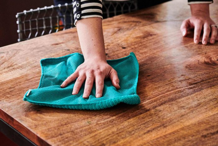 SMALL KITCHEN CLEANING CHECKLIST DAY TWO