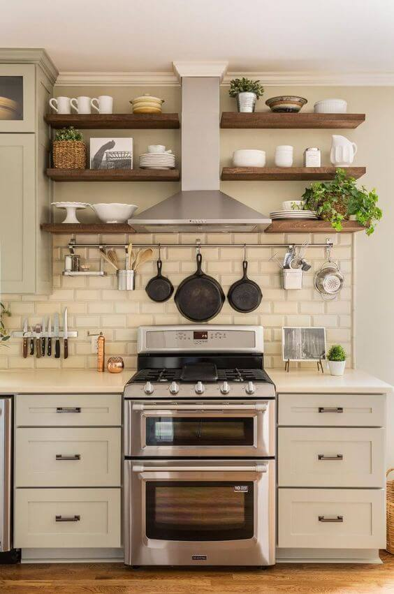 AWESOME ORGANIZING FARMHOUSE SMALL KITCHEN IDEAS