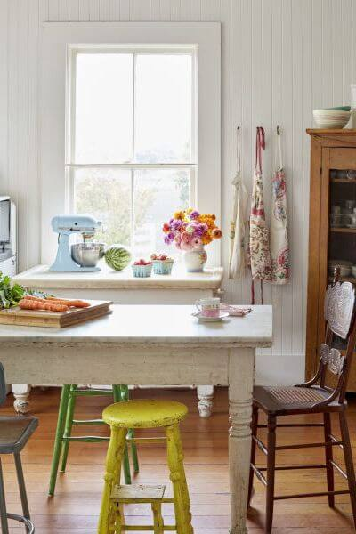 FULL TABLE FARMHOUSE SMALL KITCHEN IDEAS