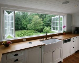 HOW TO GET RID A SMOKE SMELL IN SMALL KITCHEN EASILY WITH LARGE WINDOW