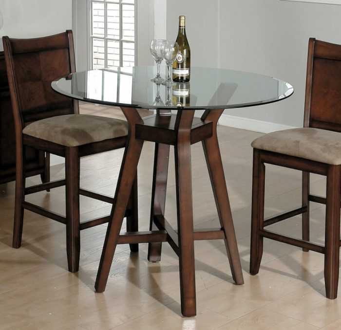 NICE SMALL ROUNG KITCHEN DINING TABLE DESIGN IDEAS