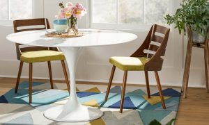 ROUND SMALL KITCHEN TABLES WITH BENCH DESIGN IDEAS