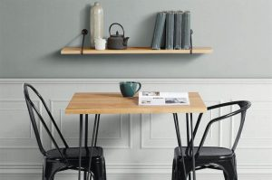 SMALL KITCHEN FOLDING TABLES WITH LIMIT THE NUMBER OF CHAIRS OR BENCH