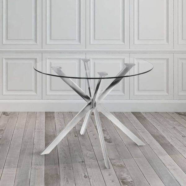 ACRYLIC OR GLASS DINING TABLE FOR SMALL KITCHEN LOOK LARGER