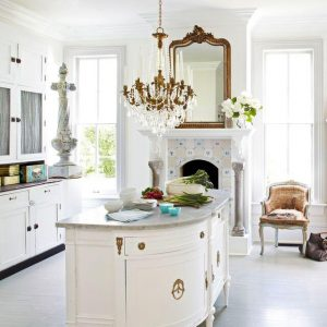 CHOOSE THE RIGHT LIGHTING FOR SMALL FRENCH COUNTRY KITCHEN